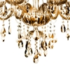 """Picture of 32"""" 6 Light Up Chandelier with Chrome finish"""