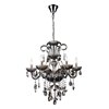 "Picture of 32"" 6 Light Up Chandelier with Chrome finish"