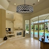 "Picture of 32"" 8 Light  Chandelier with Black finish"