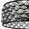 """Picture of 32"""" 8 Light  Chandelier with Black finish"""