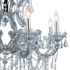 "Picture of 32"" 8 Light Up Chandelier with Chrome finish"