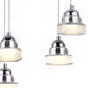 """Picture of 32"""" LED Down Chandelier with Chrome finish"""