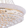 "Picture of 33"" 18 Light Down Chandelier with Gold finish"