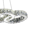 "Picture of 33"" LED  Chandelier with Chrome finish"