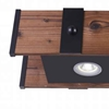 """Picture of 33"""" LED Vanity Light with Black finish"""
