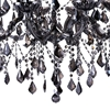 """Picture of 34"""" 10 Light Up Chandelier with Chrome finish"""