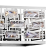 """Picture of 34"""" 5 Light Vanity Light with Chrome finish"""
