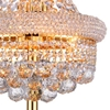 """Picture of 34"""" 6 Light Table Lamp with Gold finish"""