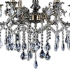 """Picture of 34"""" 6 Light Up Chandelier with Antique Brass finish"""
