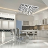 """Picture of 34"""" LED  Flush Mount with Chrome finish"""