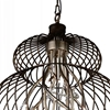 "Picture of 35"" 12 Light Down Chandelier with Antique Gold finish"
