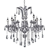 "Picture of 35"" 12 Light Up Chandelier with Chrome finish"