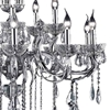 "Picture of 35"" 15 Light Up Chandelier with Chrome finish"