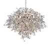 "Picture of 35"" 17 Light Down Chandelier with Chrome finish"
