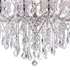 "Picture of 35"" 19 Light Up Chandelier with Chrome finish"