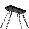 "Picture of 35"" 5 Light Island Chandelier with Black finish"