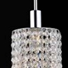 "Picture of 35"" 5 Light Multi Light Pendant with Chrome finish"