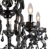 """Picture of 35"""" 5 Light Up Chandelier with Chrome finish"""