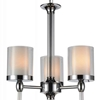 """Picture of 35"""" 9 Light Candle Chandelier with Chrome finish"""