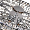 """Picture of 36"""" 10 Light Down Chandelier with Chrome finish"""