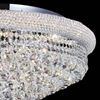 """Picture of 36"""" 20 Light  Flush Mount with Chrome finish"""