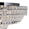 "Picture of 36"" 21 Light Bowl Flush Mount with Chrome finish"