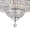 """Picture of 36"""" 21 Light Bowl Flush Mount with Chrome finish"""