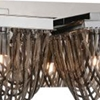 """Picture of 36"""" 5 Light Vanity Light with Chrome finish"""