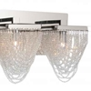 "Picture of 36"" 5 Light Vanity Light with Chrome finish"