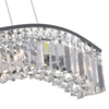 "Picture of 36"" 7 Light Down Chandelier with Chrome finish"