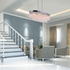 "Picture of 36"" 8 Light Island Chandelier with Chrome finish"