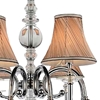 "Picture of 36"" 8 Light Up Chandelier with Chrome finish"