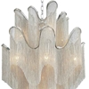 "Picture of 37"" 16 Light Down Chandelier with Chrome finish"