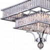 "Picture of 37"" 16 Light Island Chandelier with Chrome finish"