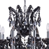 """Picture of 37"""" 25 Light Up Chandelier with Chrome finish"""