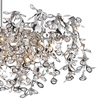 "Picture of 37"" 7 Light Down Chandelier with Chrome finish"