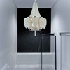 """Picture of 38"""" 18 Light Down Chandelier with Chrome finish"""
