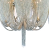 "Picture of 38"" 18 Light Down Chandelier with Chrome finish"