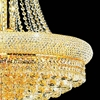 """Picture of 38"""" 19 Light Down Chandelier with Gold finish"""