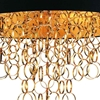 """Picture of 38"""" 8 Light Drum Shade Chandelier with Gold finish"""