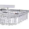 "Picture of 39"" 18 Light  Flush Mount with Chrome finish"