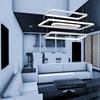 "Picture of 39"" LED Chandelier with White Finish"