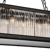 "Picture of 40"" 10 Light  Chandelier with Black finish"