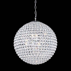 """40"""" 26 Light  Chandelier with Chrome finish"""