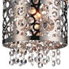 """Picture of 40"""" 4 Light Multi Light Pendant with Chrome finish"""