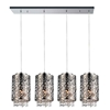 """Picture of 40"""" 5 Light Multi Light Pendant with Chrome finish"""