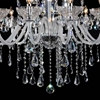 """Picture of 41"""" 18 Light Up Chandelier with Chrome finish"""