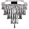 "Picture of 42"" 13 Light Down Chandelier with Chrome finish"