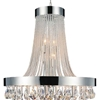 """Picture of 42"""" 13 Light Down Chandelier with Chrome finish"""