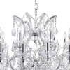 "Picture of 42"" 25 Light Up Chandelier with Chrome finish"